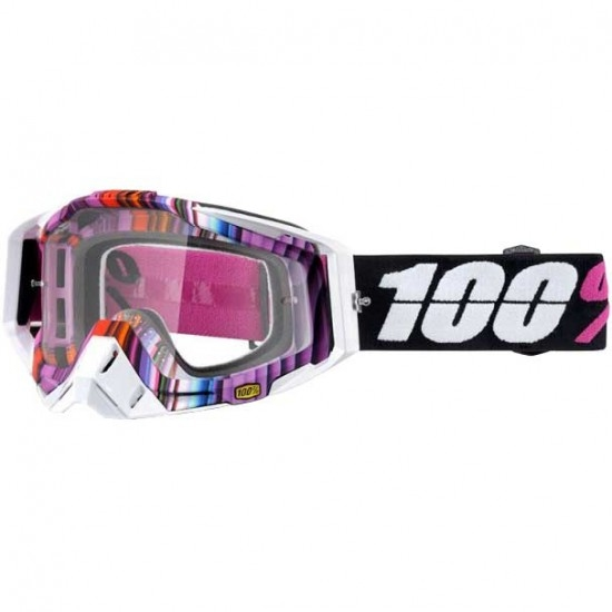 100% Racecraft Glitch Goggles