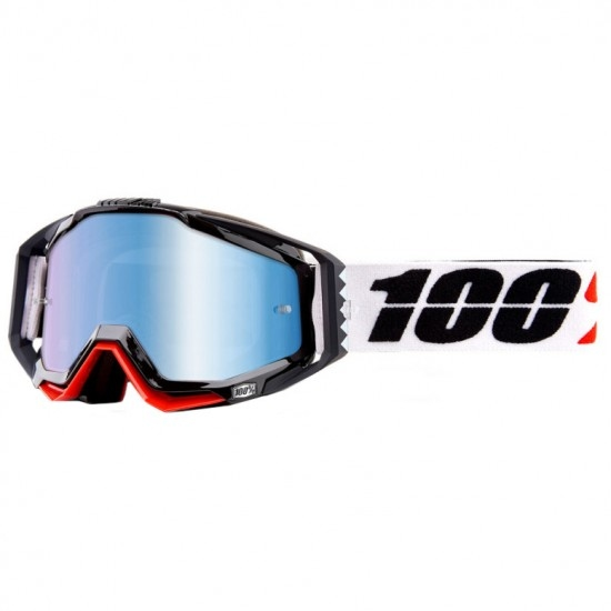 100% Racecraft Marigot Mirror Blue Goggles