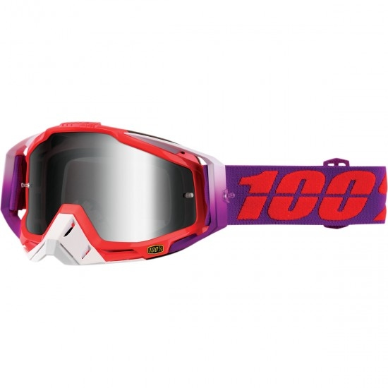 100% Racecraft Watermelon Mirror Silver Mask / Goggle