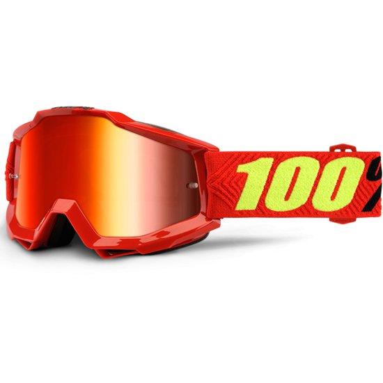 100% Accuri Saarinen Mirror Red Mask / Goggle