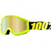 100% Strata Neon Yellow Mirror Gold