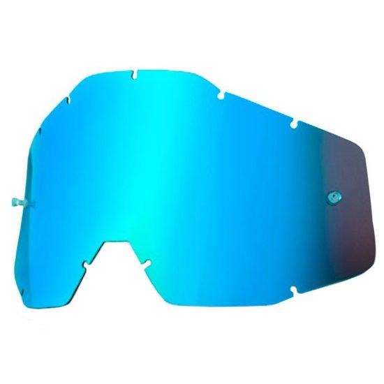 Recambio 100% Anti Fog Mirror Blue