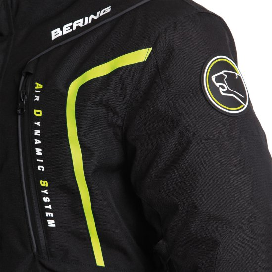 Jacke BERING Ralf Black / Yellow Fluo