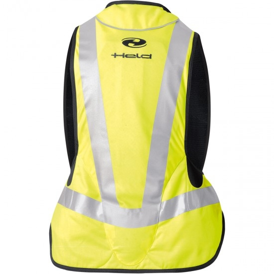 Proteccion HELD Air Vest Black / Yellow Fluo