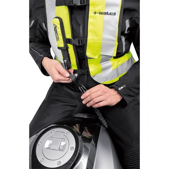 Protektor HELD Air Vest Black / Yellow Fluo