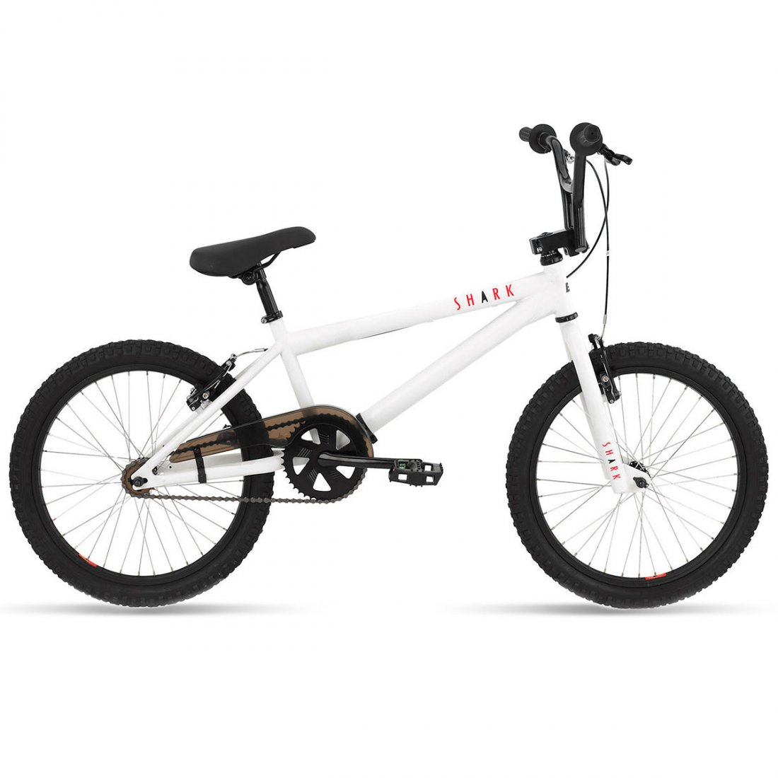 Bicicleta BMX BH Shark Junior 2017 White / Red · Motocard