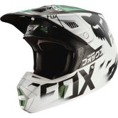 FOX V2 Union LE 2017 White / Black / Green