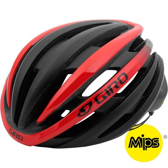 Casco GIRO Cinder MIPS Matte Black / Bright Red