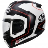 ARAI Axces-3 Line Red