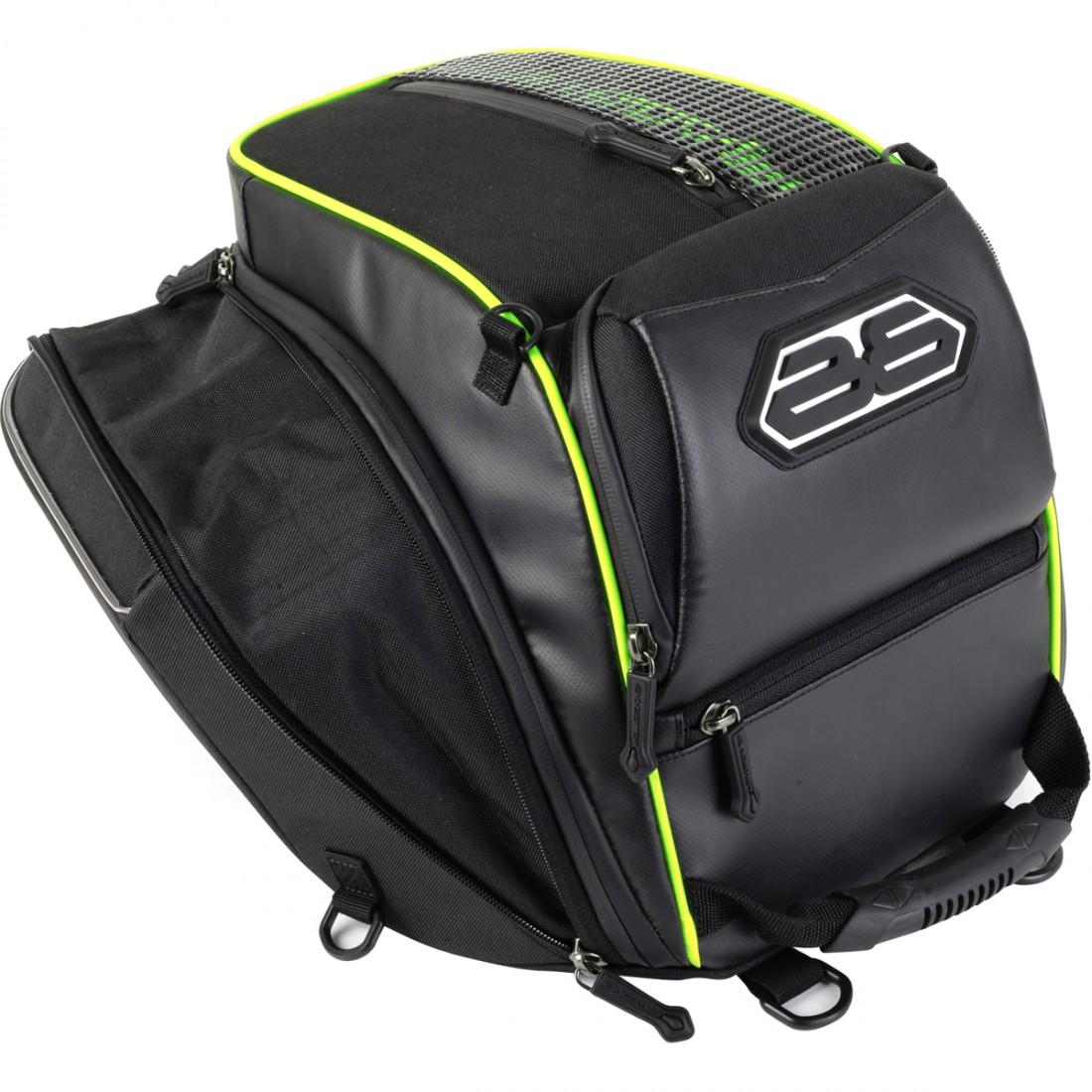 BAGSTER Transformer Black Bag · Motocard