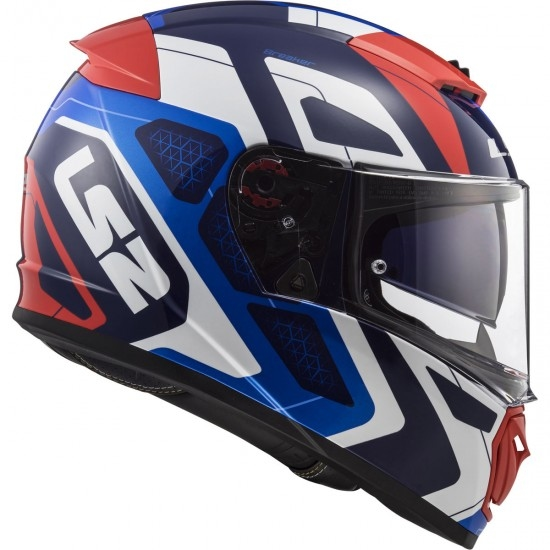 Casque LS2 FF390 Breaker Android Blue / Red