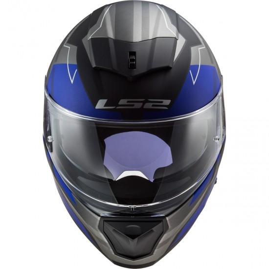 Casque LS2 FF390 Breaker Beta Matt Blue