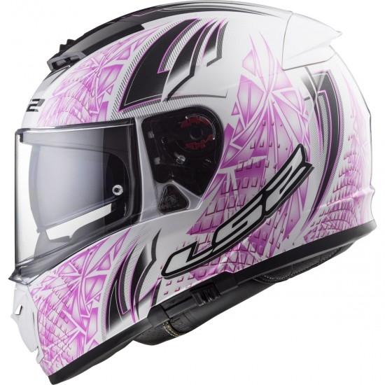 LS2 FF390 Breaker Rumble White / Pink Helmet
