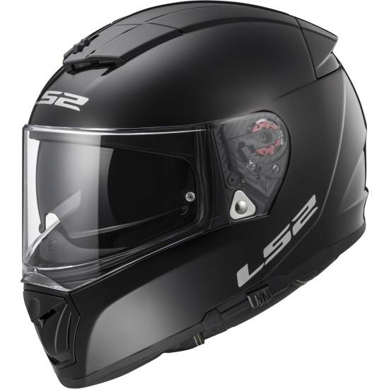 LS2 FF390 Breaker Black Helmet