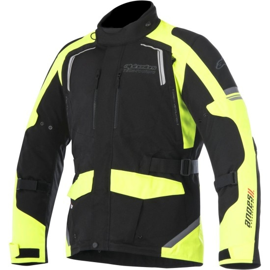 ALPINESTARS Andes V2 Drystar Black / Yellow Fluo Jacket