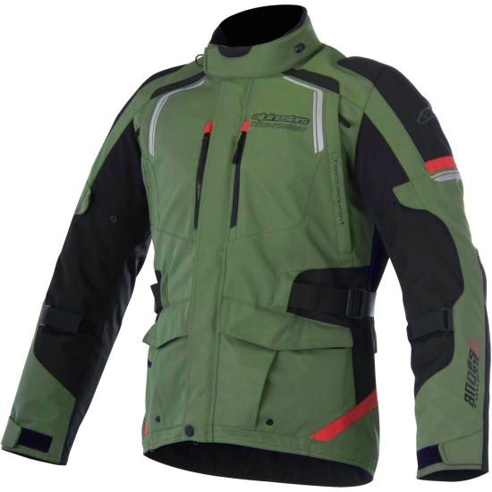 Casaco ALPINESTARS Andes V2 Drystar Military Green / Black / Red