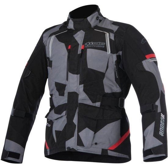 Jacke ALPINESTARS Andes V2 Drystar Black / Camo / Red