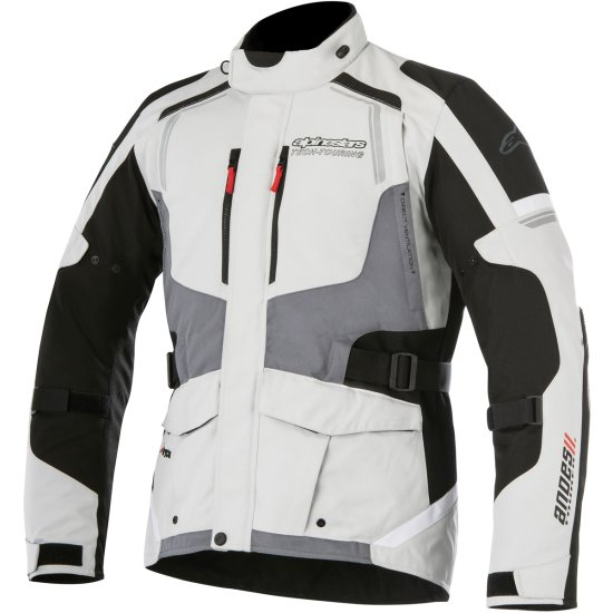 ALPINESTARS Andes V2 Drystar Light Gray / Black / Dark Gray Jacket