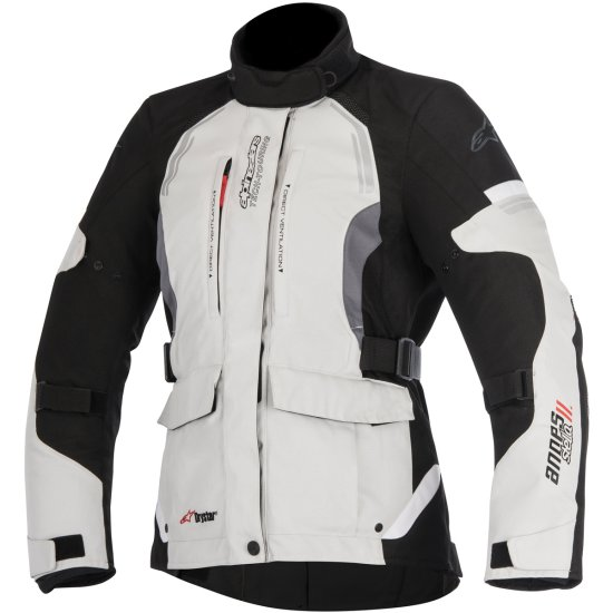 Chaqueta ALPINESTARS Stella Andes V2 Drystar Lady Light Gray / Black / Dark Gray