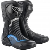 ALPINESTARS SMX-6 V2 Black / Gun Metal / Blue
