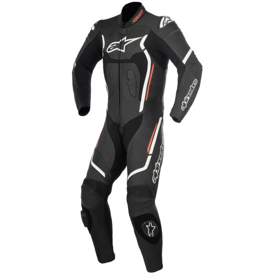 Traje / Mono ALPINESTARS Motegi V2 Professional Black / White / Red Fluo