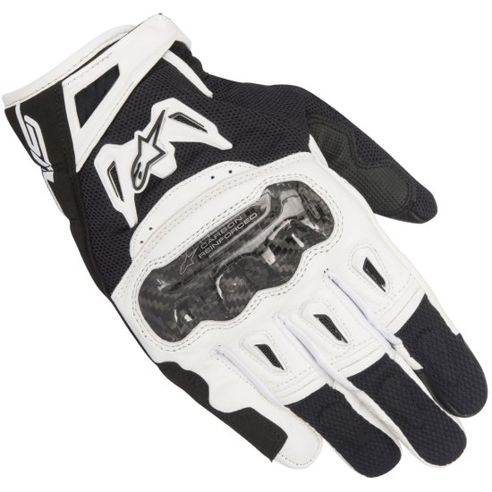 Handschuh ALPINESTARS SMX-2 Air Carbon V2 Black / White