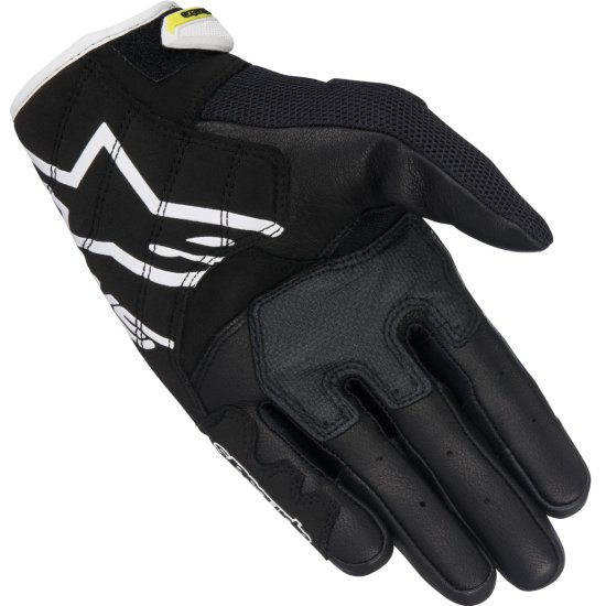 Gants ALPINESTARS SMX-2 Air Carbon V2 Black / White / Yellow Fluo