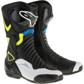 ALPINESTARS SMX-6 V2 Black / White / Yellow Fluo / Blue