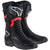 ALPINESTARS SMX-6 V2 Drystar Black / Red Fluo