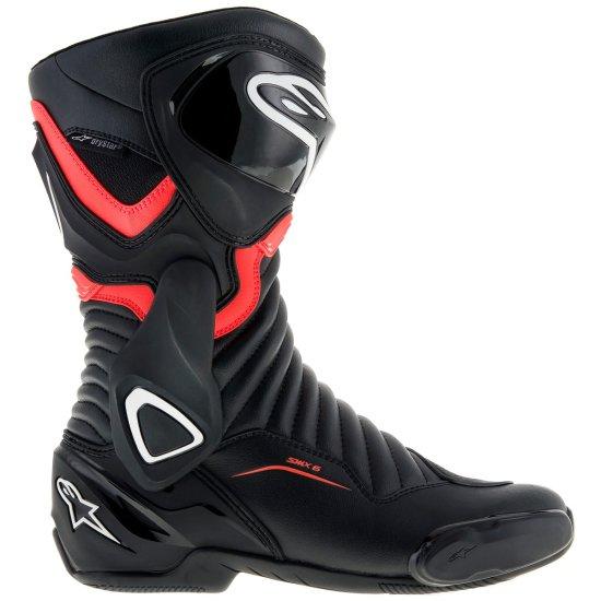 ALPINESTARS SMX-6 V2 Drystar Black / Red Fluo Boots