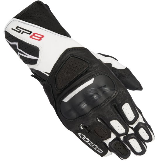 Guantes ALPINESTARS SP-8 V2 Black / White