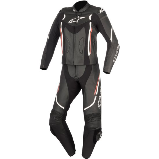 Combinaison ALPINESTARS Stella Motegi V2 Lady Black / White / Red