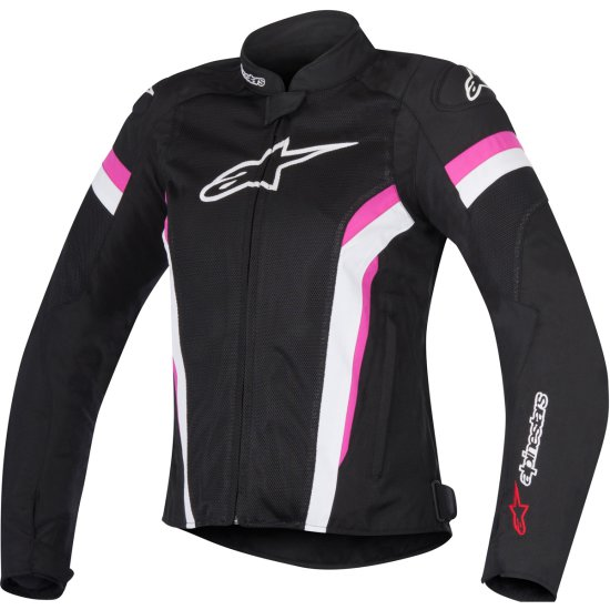 Jacke ALPINESTARS Stella T-GP Plus R V2 Air Lady Black / White / Fuchsia