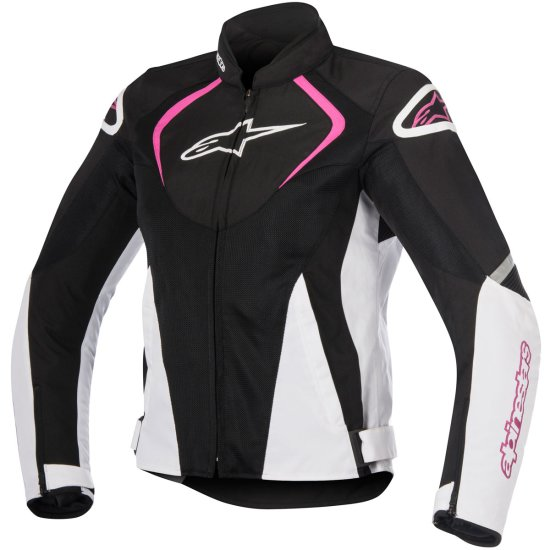Chaqueta ALPINESTARS Stella T-Jaws V2 Air Lady Black / White / Fuchsia