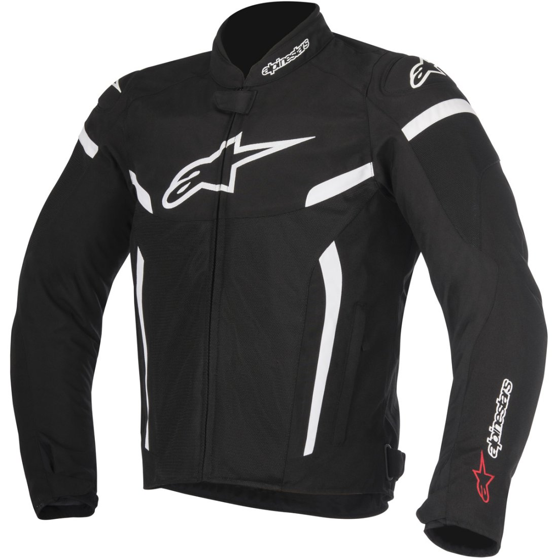 alpinestars t gp plus r v2 air black white jacket motocard. Black Bedroom Furniture Sets. Home Design Ideas