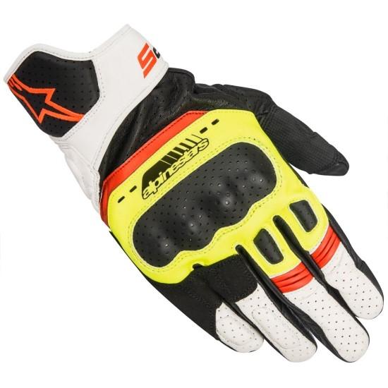 ALPINESTARS SP-5 Black / Yellow Fluo / White / Red Fluo Gloves