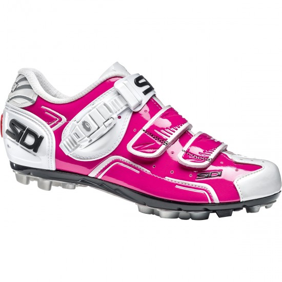 SIDI MTB Buvel Lady Fuxia / White Shoe