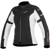 ALPINESTARS Stella Stratos Techshell Drystar Lady Black / Light Gray / Fuchsia