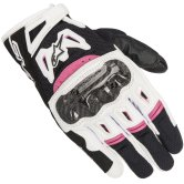ALPINESTARS Stella SMX-2 Air Carbon V2 Lady Black / White / Fuchsia