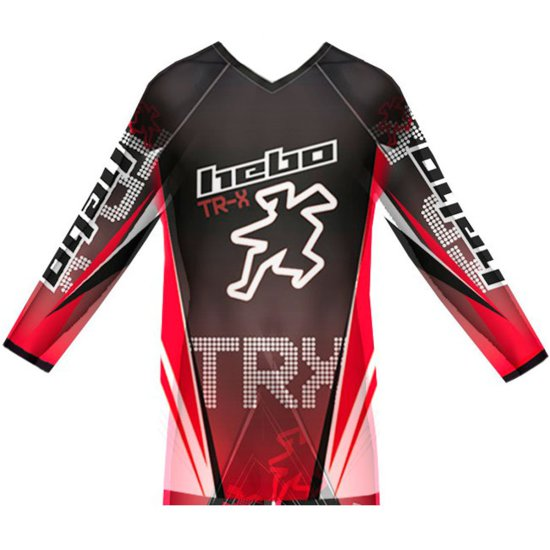 Maglietta HEBO Pro TR-X Junior Red