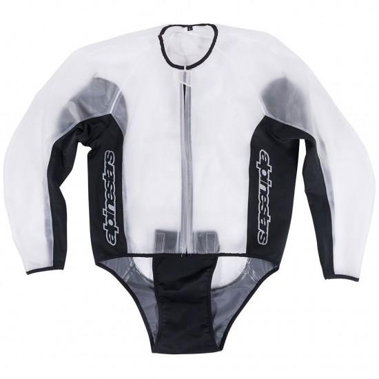 Wasserdicht ALPINESTARS Racing Rain Clear / Black