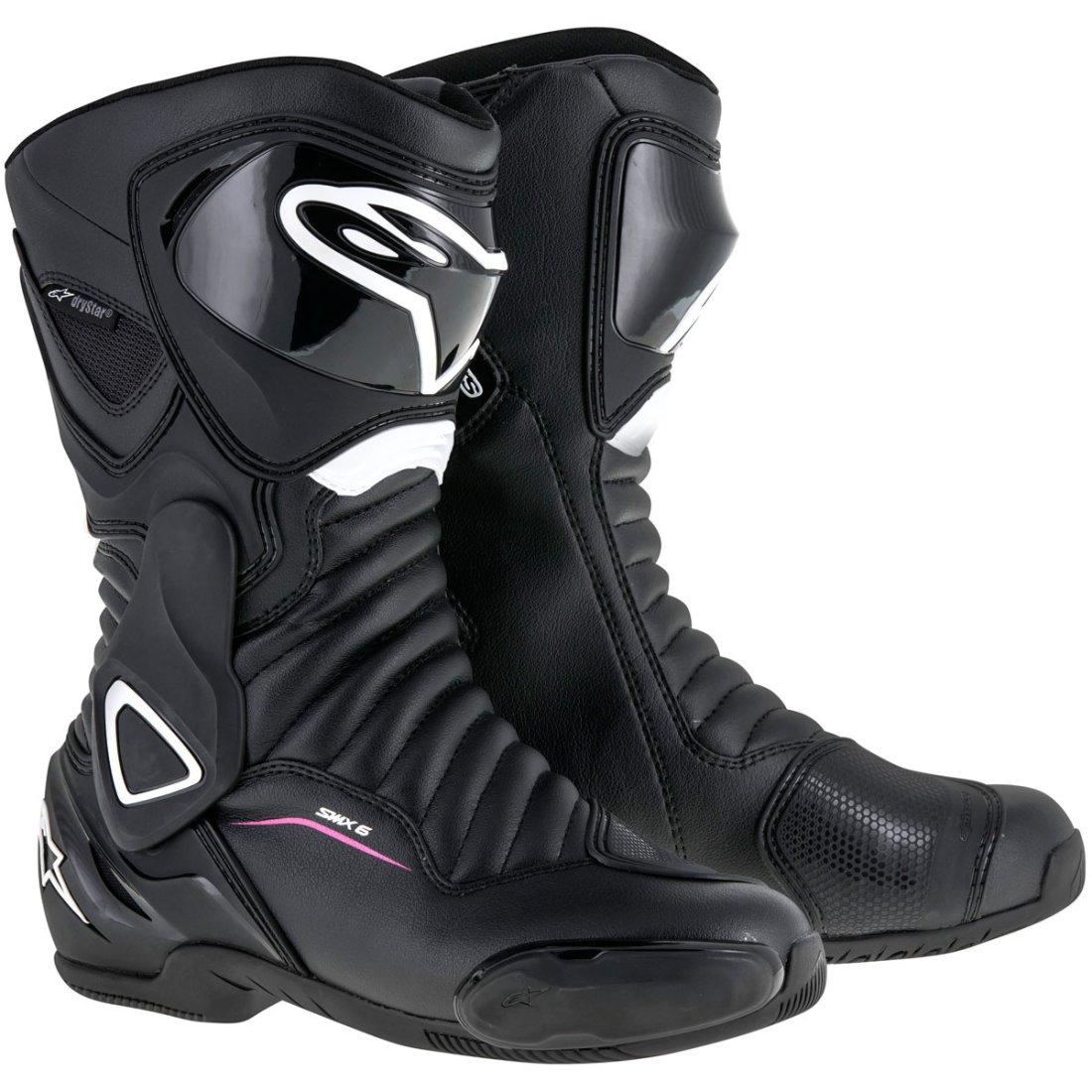 ALPINESTARS Stella SMX 6 V2 Drystar Lady Black White Fuchsia Boots