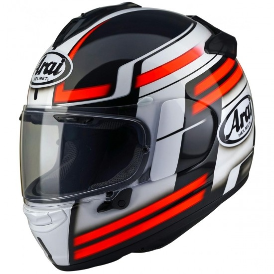 ARAI Chaser-X Competition Red Helmet