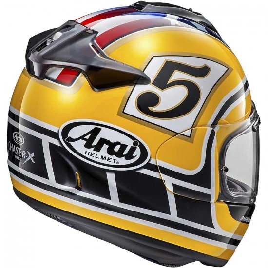 ARAI Chaser-X Edwards Legend Yellow Helmet