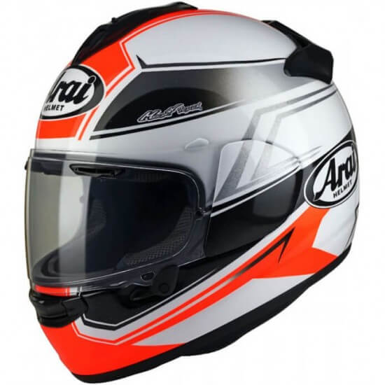 ARAI Chaser-X Shaped Red Helmet