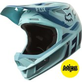 FOX Rampage Pro Carbon Seca Ice Blue