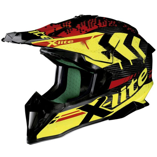 Casco X-LITE X-502 Ultra Carbon Nac-Nac Carbon Yellow
