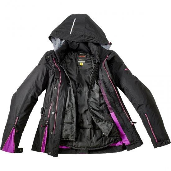 Chaqueta SPIDI Stormy H2Out Lady Black / Fuchsia