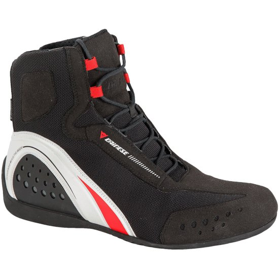 Botas DAINESE Motorshoe D-WP JB Black / White / Red