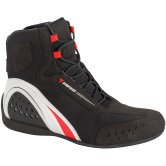 DAINESE Motorshoe D-WP JB Black / White / Red